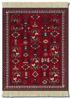 de Young Early Turkmen, Mouse Rug
