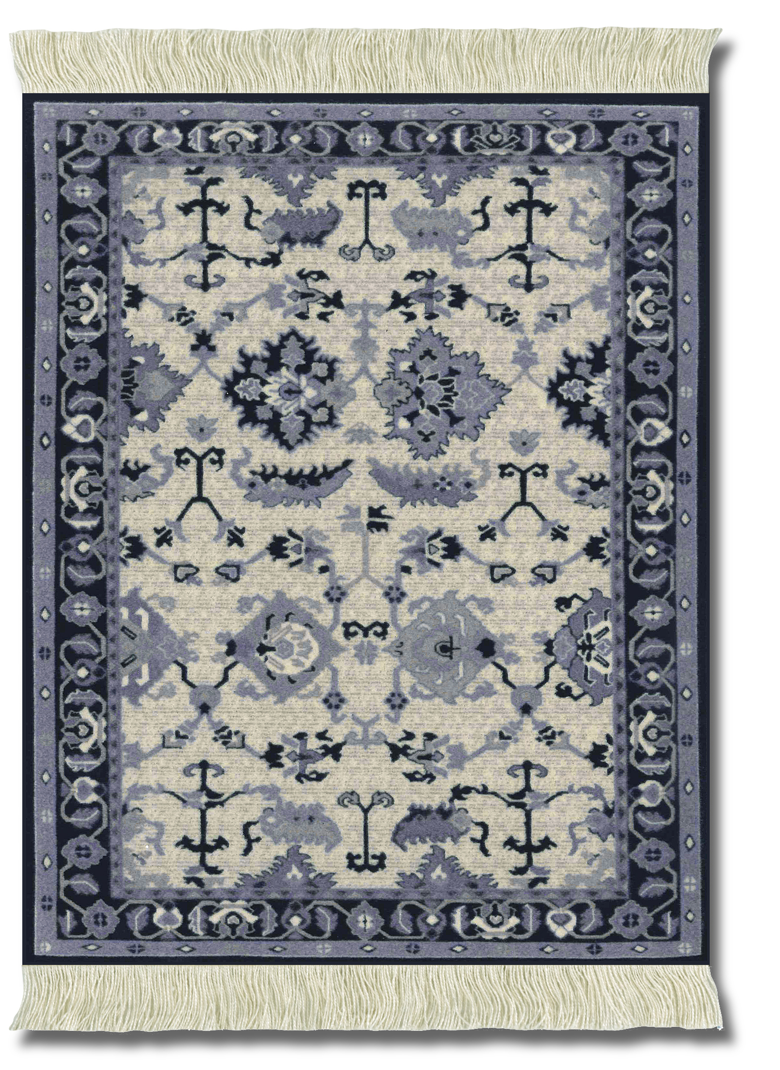 Indienne, Mouse Rug
