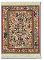 Dusty-Gold Ancient Oriental, Mouse Rug