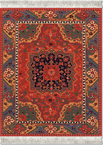 Northwest Persian, Mouse Rug