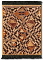 KUBA Cloth, Coaster Rug