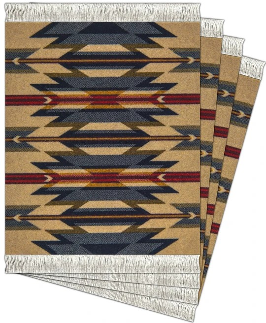 Wyeth Trail, Coaster Rug