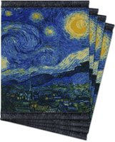 The Starry Night, Coaster Rug